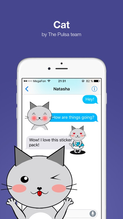Cat - Cute stickers