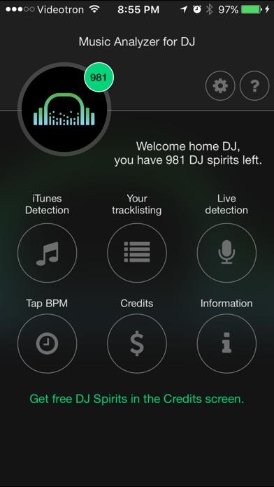 Music analyzer for DJ