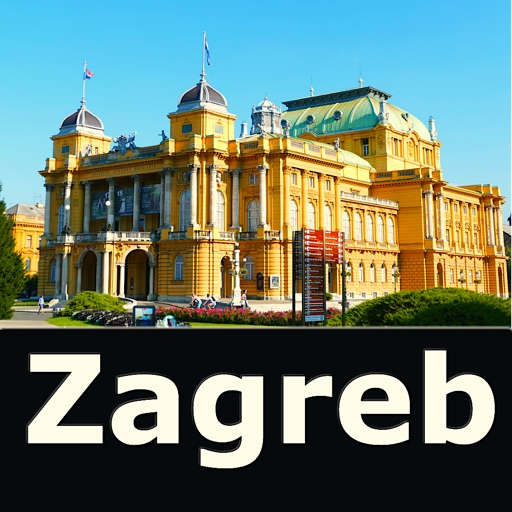 Zagreb (Croatia) – Travel Map