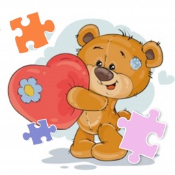 Pretty Bear Jigsaw Puzzle Fun