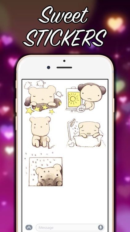 Little Bear - Stickers Pack! screenshot-4