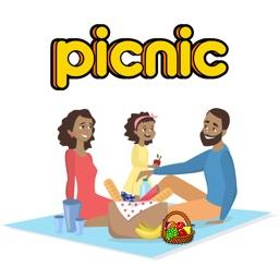 Picnic & Fun Loving Stickers