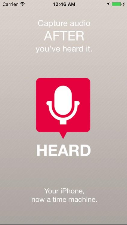 HEARD - the Plan B for memory