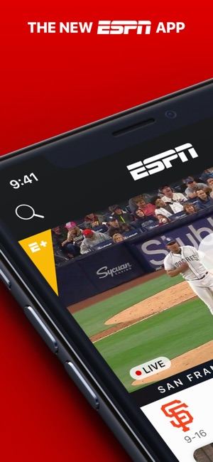 how to watch live sports on ipad