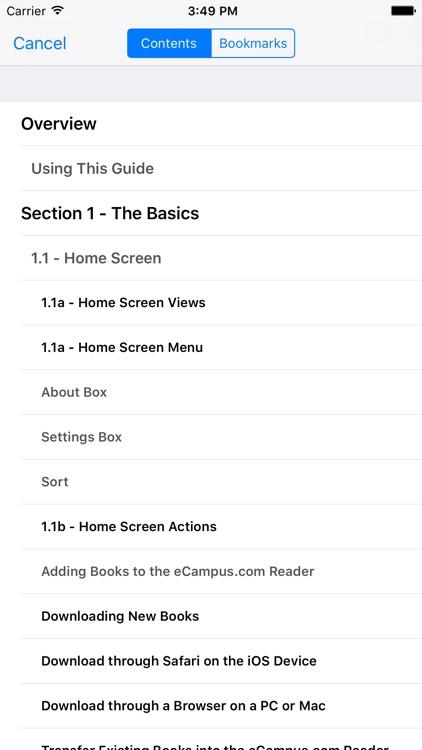 eCampus.com Reader screenshot-3