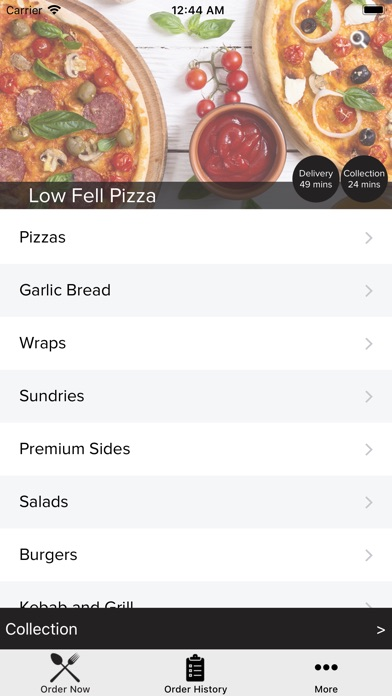 Low Fell Pizza Apps 148apps