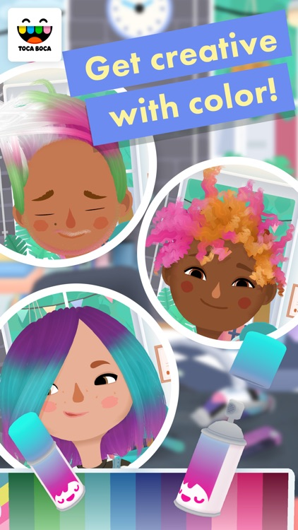 Toca Hair Salon 3 screenshot-3