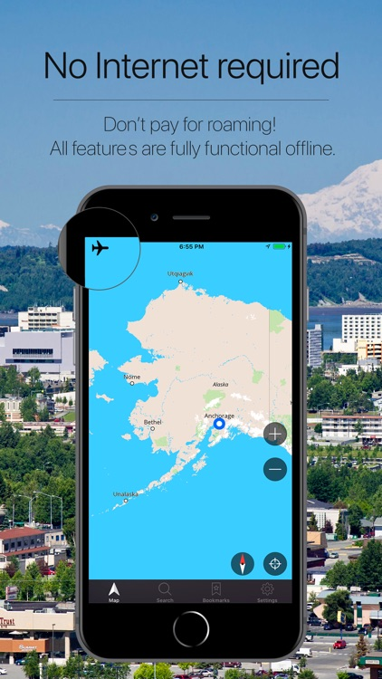 Alaska, USA Offline Navigation screenshot-0
