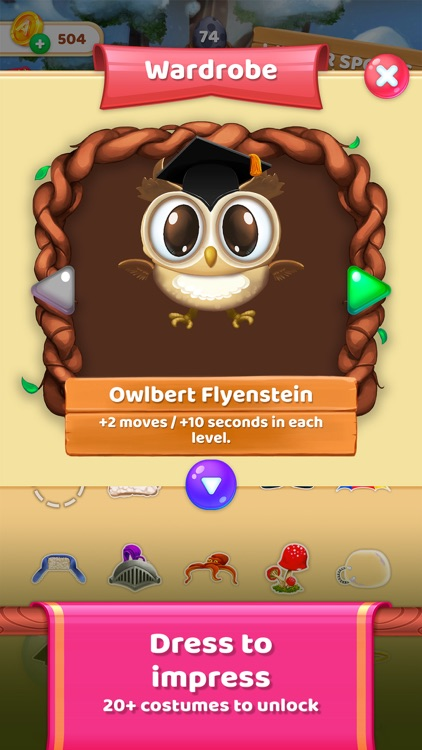 Owls and Vowels: Word Game screenshot-4