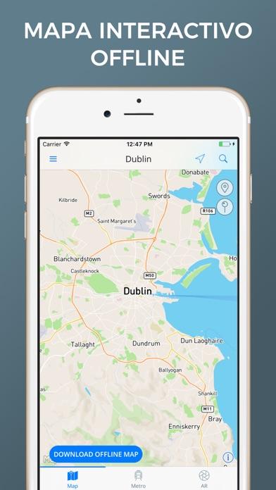 Dublín - Mapas de la ciudadCaptura de pantalla de1