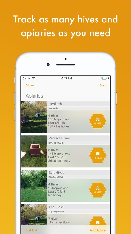 BeePlus Beekeeping Manager screenshot-4