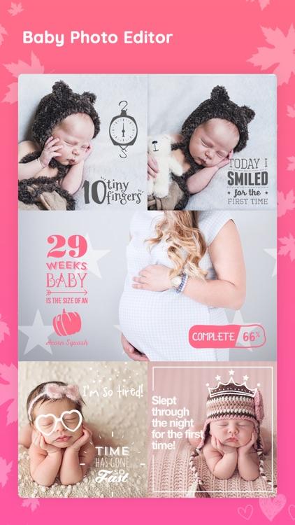 Baby photo editor & Art Maker screenshot-4