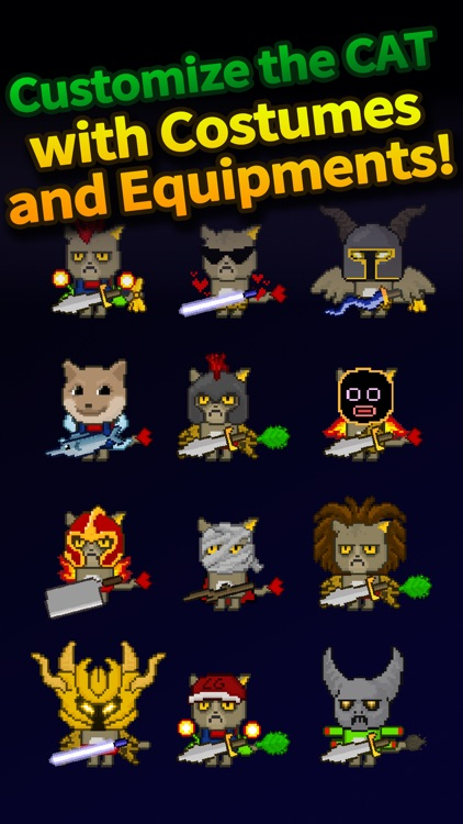 Cat Tower - Idle RPG screenshot-4