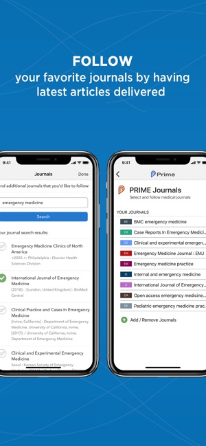 Prime: PubMed Journals & Tools on the App Store