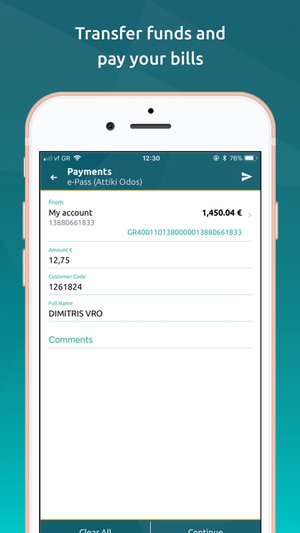 NBG Mobile Banking screenshot-2