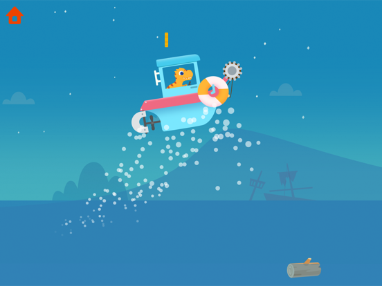 恐竜パトロールボート - 子供向けゲームのおすすめ画像3