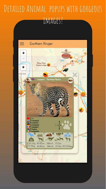 Kruger Map App screenshot-2