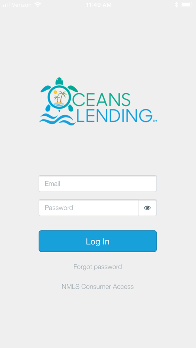 Oceans Lending screenshot one