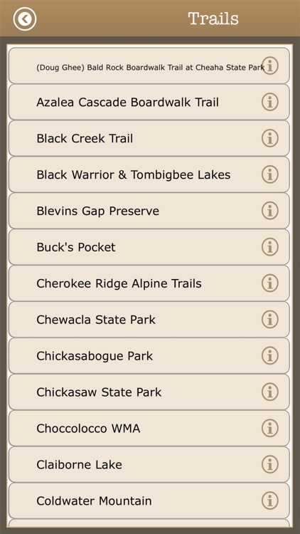 Great - Alabama Camps & Trails screenshot-3