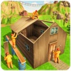 Jungle Hut Building & Crafting