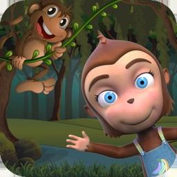 Kaju Games : 5 Little Monkeys