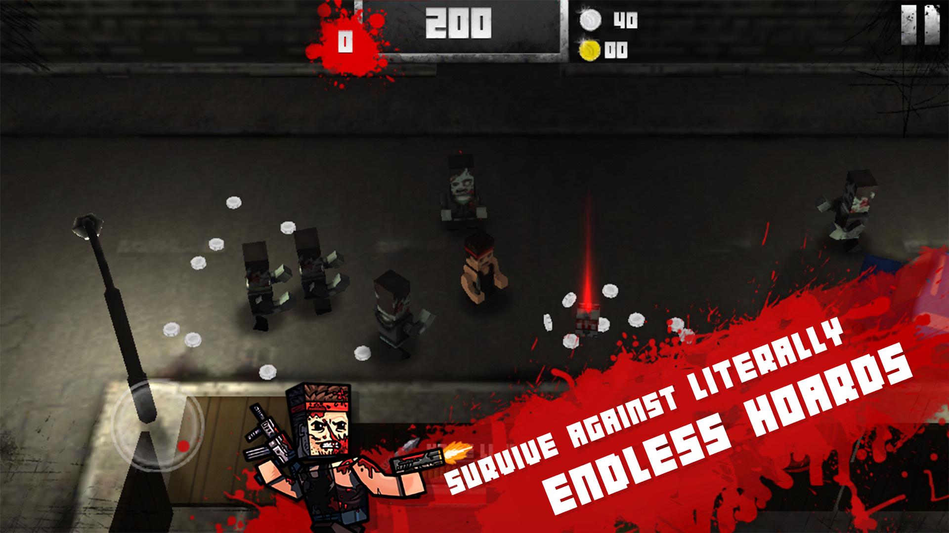 Boxhead: The Zombie Wars 3D screenshot 10