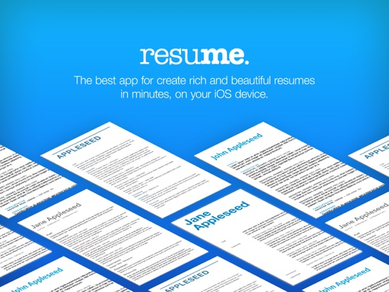 resume builder resume creator app price drops