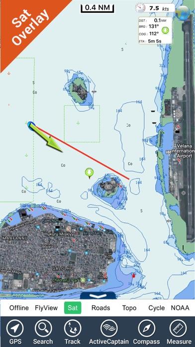 Maldives GPS Map NavigatorCaptura de pantalla de3