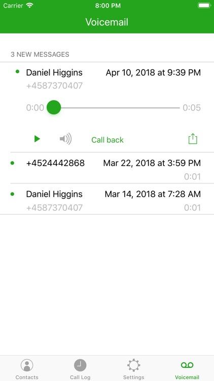 Call Control for BroadWorks V2 screenshot-3