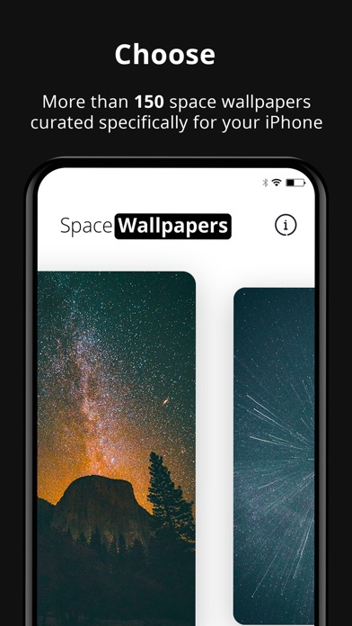 Screenshot of Space WallPapers 4K App