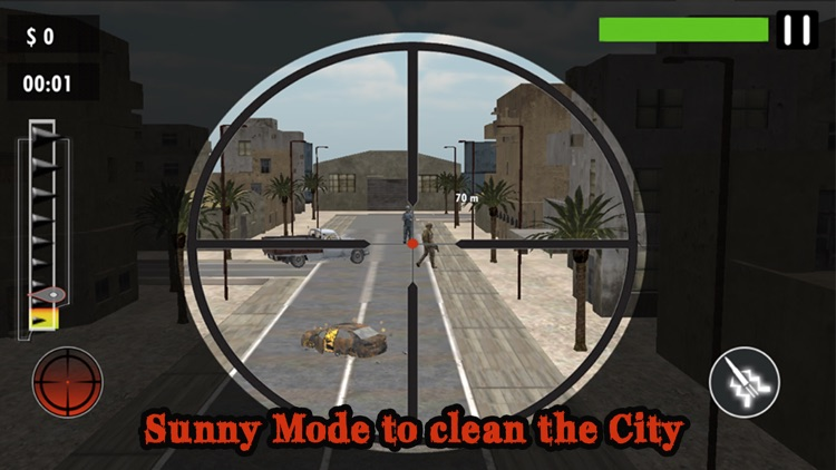 Arctic City Sniper-Escape Saw screenshot-3