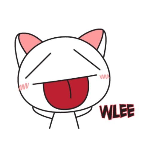 Droll Cat Cute Stickers Pack