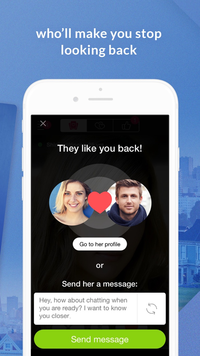 LoveAgain Dating Screenshot