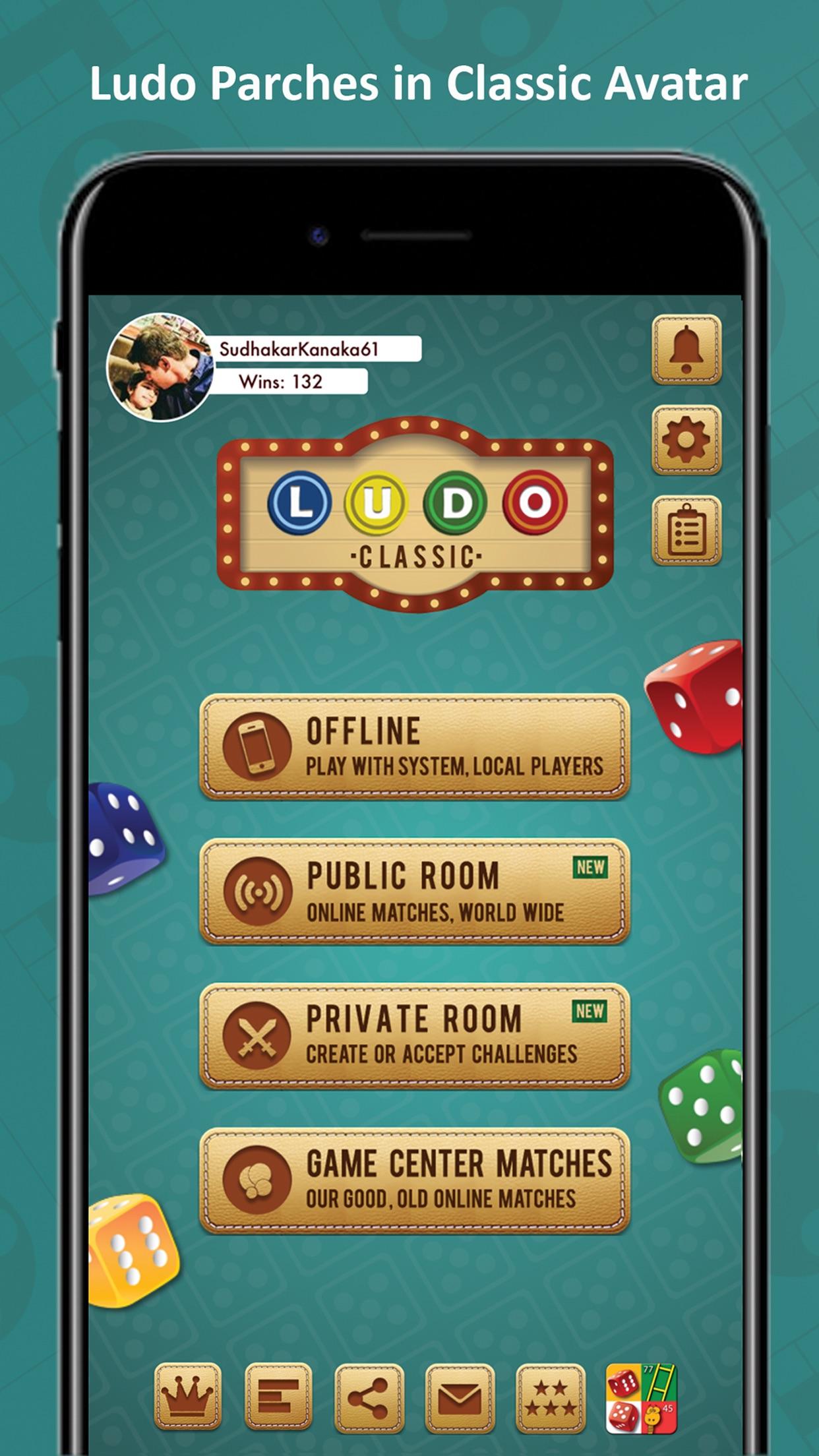 Classic Ludo - Offline & online multiplayer games Screenshot