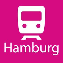 Hamburg Rail Map Lite