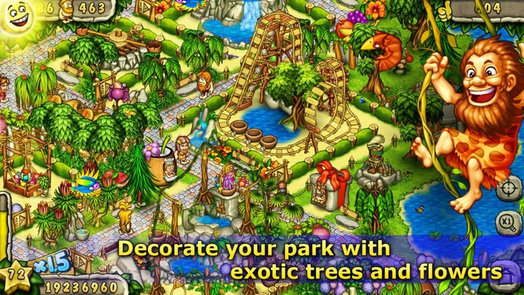 Prehistoric Fun Park Builder screenshot-2