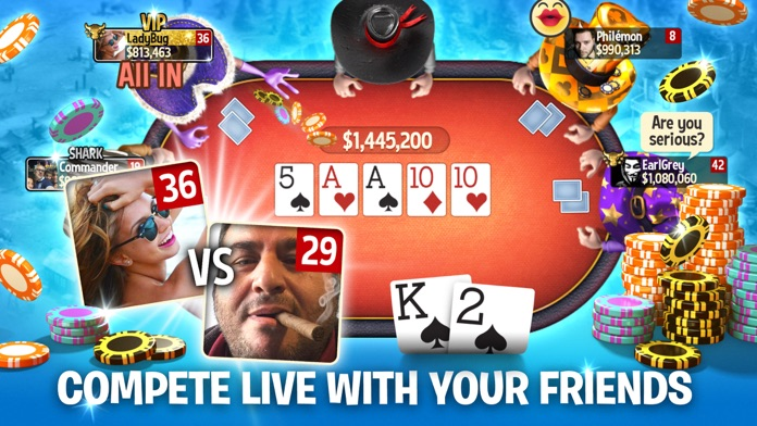 Governor of Poker 3 -  Online Screenshot