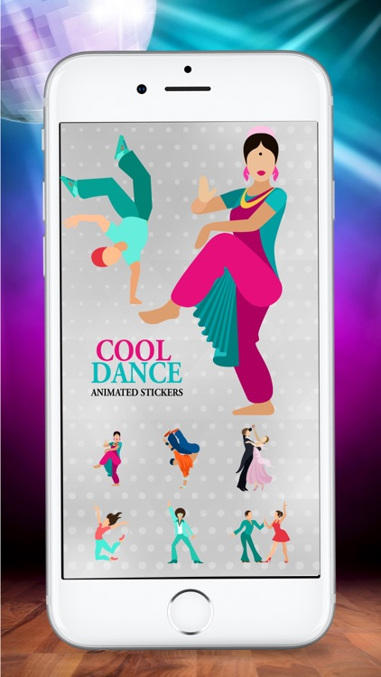 Animated Dancing Life Stickers screenshot-2