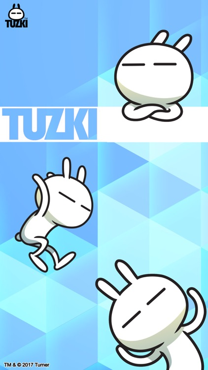 Tuzki Animated Sticker Pack screenshot-3