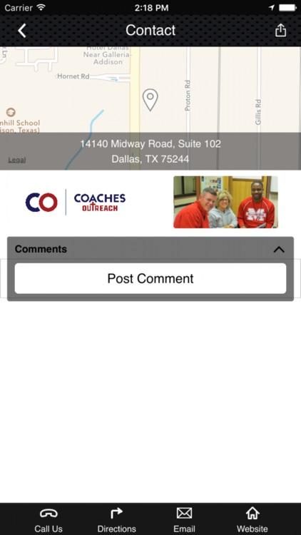 Coaches Outreach