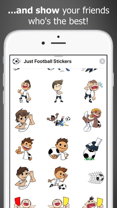 Just Football Stickers screenshot four