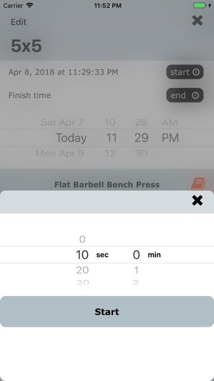 Workout Note screenshot-9