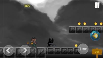 Black Panther Runner Shooter Screenshot 2
