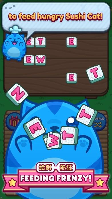 Sushi Cat Words screenshot 1