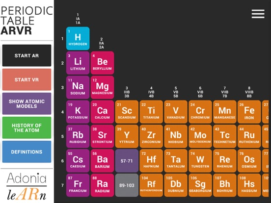 Periodic table arvr app price drops screenshot 2 for periodic table arvr urtaz Image collections