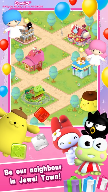Hello Kitty Jewel Town! screenshot-4