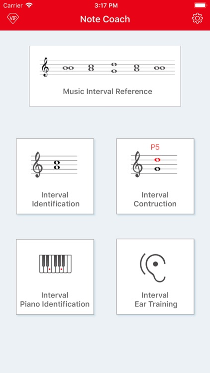 Interval Tutor-(sight-reading)