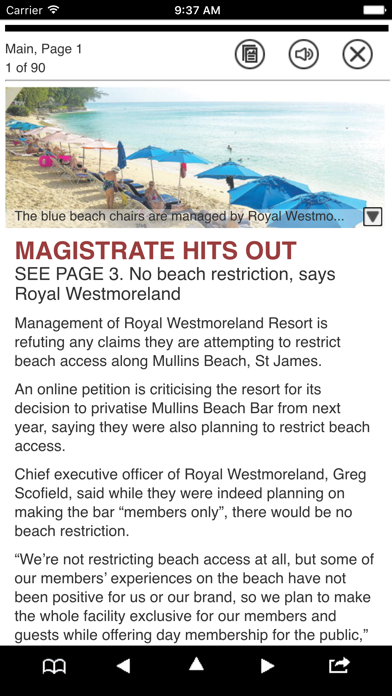 Barbados Nation News screenshot four
