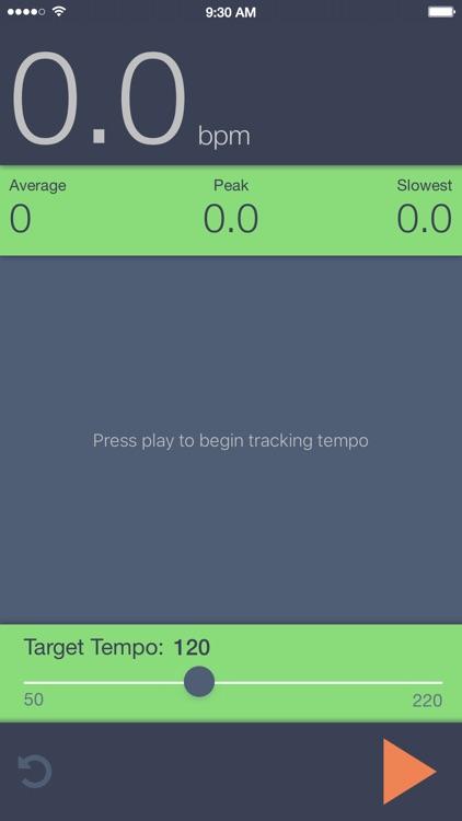 Tempo Tracker
