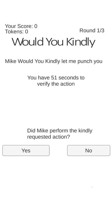 Would You Kindly screenshot four